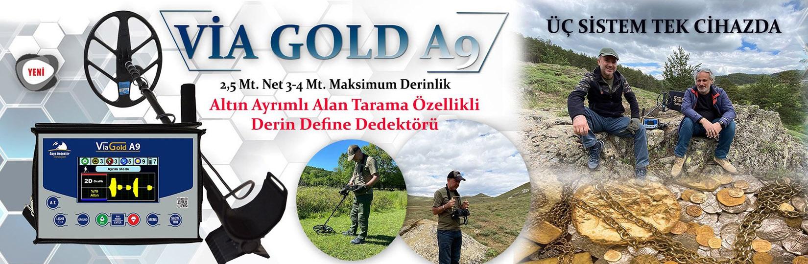 via gold a9 dedektor
